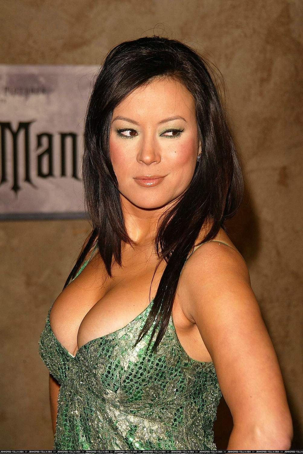 thru Nude jennifer tilly see