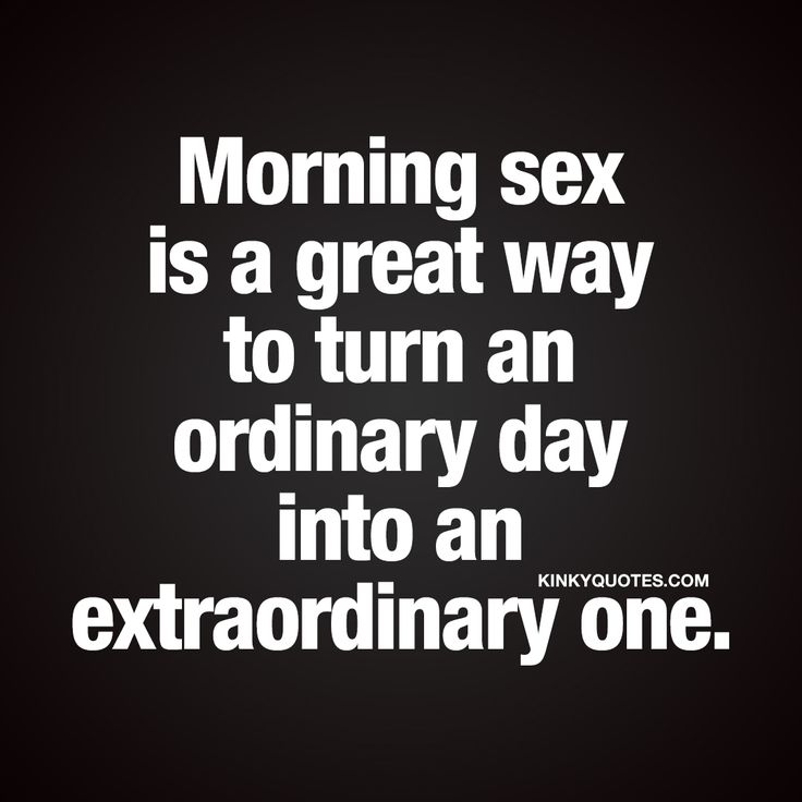 morning sex Good love