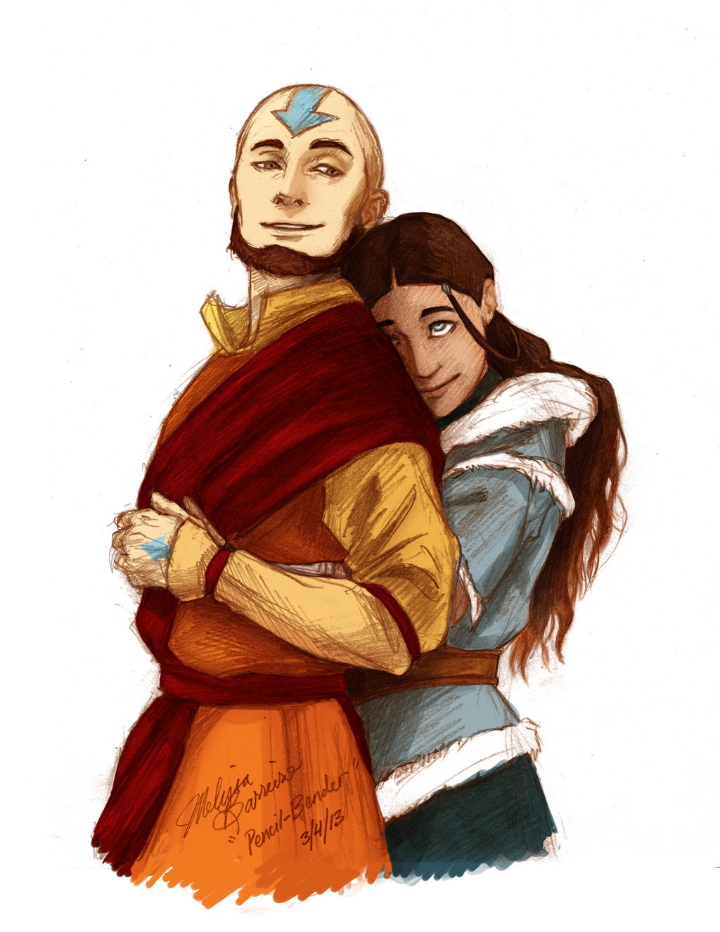 fan characters airbender the last Avatar