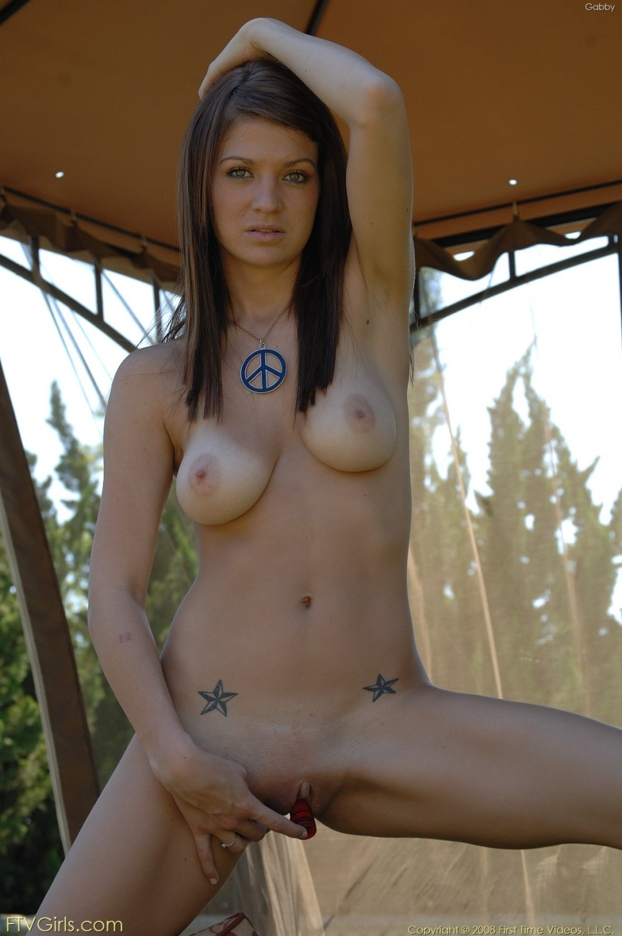 gabby Naked babe