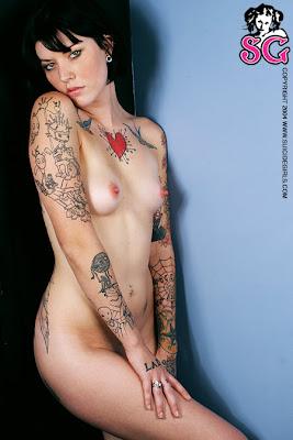 pin tattoos Nude up girl