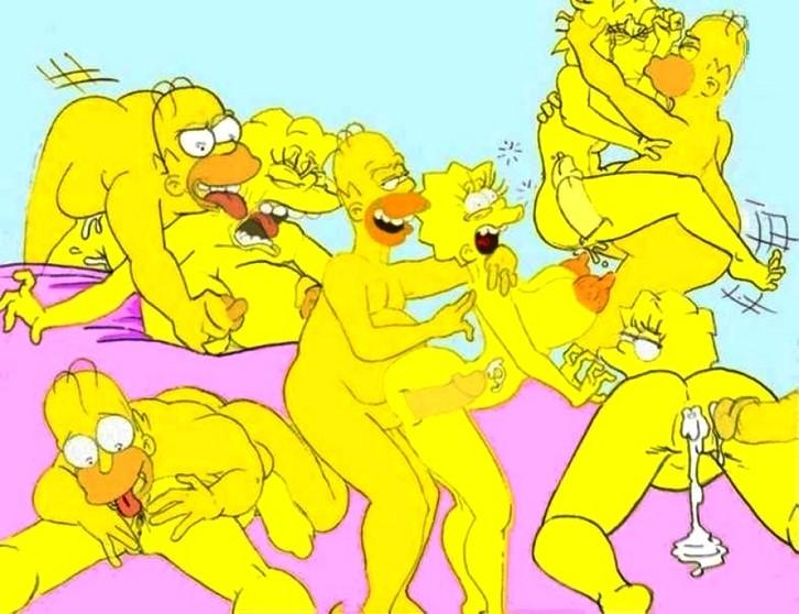 y comic porno lisa Bart