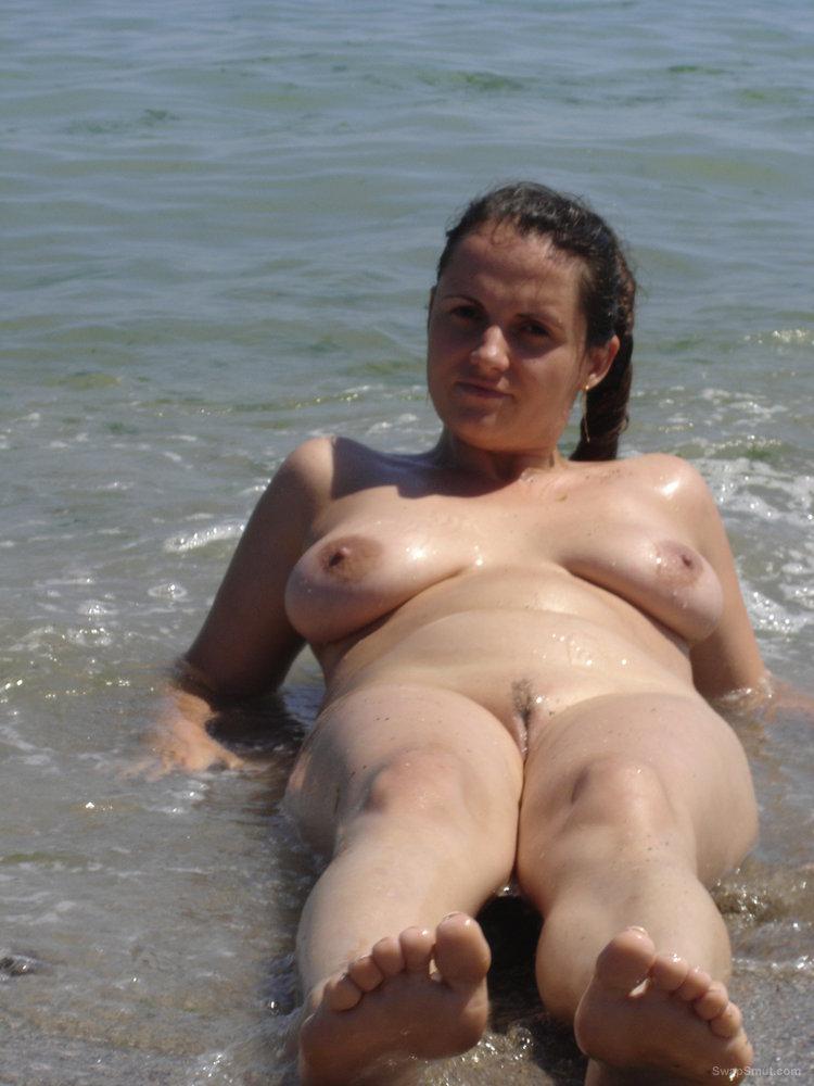 sunbathing My nude wife