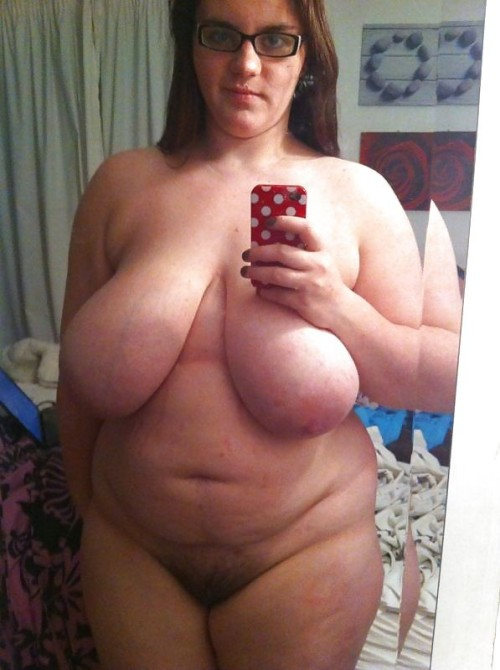 Nude pregnant selfie chubby