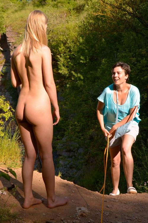 dares Public nude