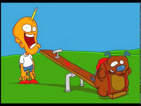 monkey spank Cartoon