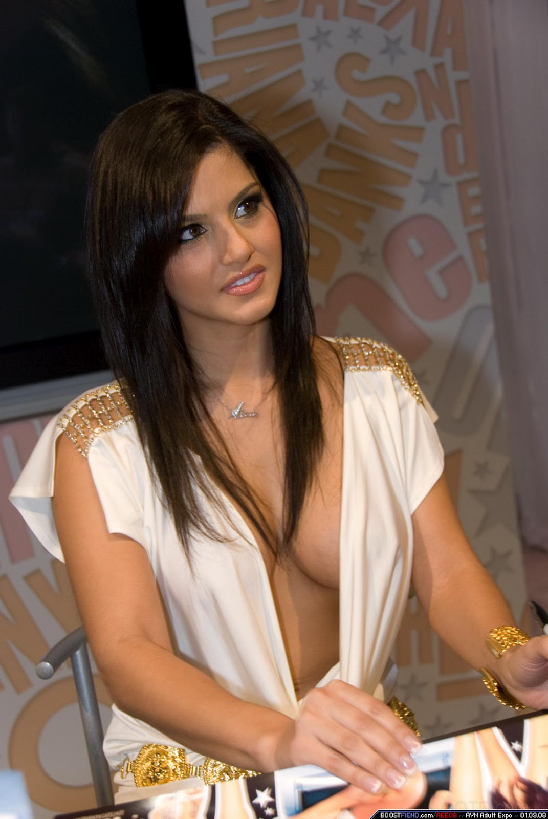 unbuttoned cleavage shirt girl Hot