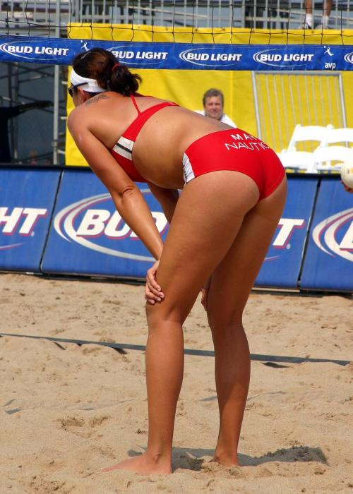 volleyball Beach malfunction oop wardrobe