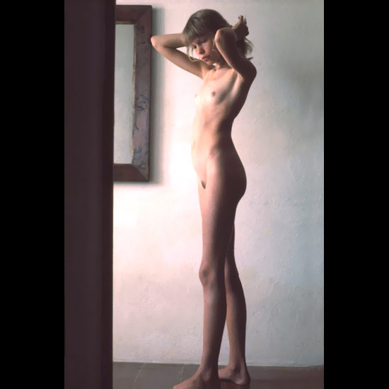 art modelling young Nudist