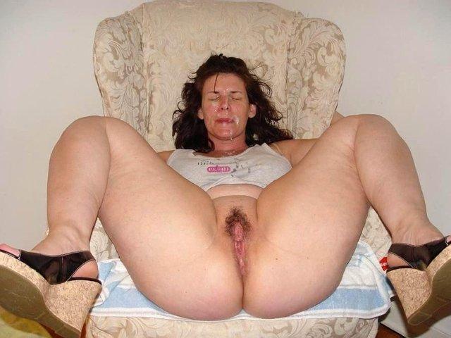pussy mature on Cum her