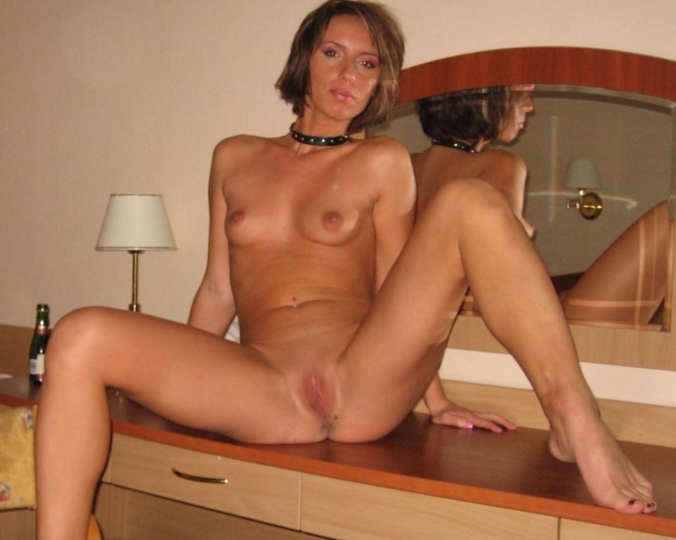 brunette bondage Petite amateur