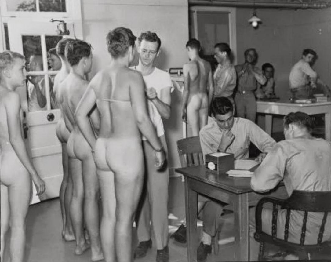 physical Nude exams military