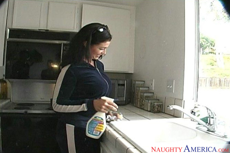 naughty maid My bella latin