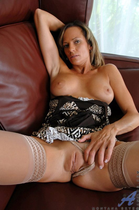 thong Shaved cougar panties in