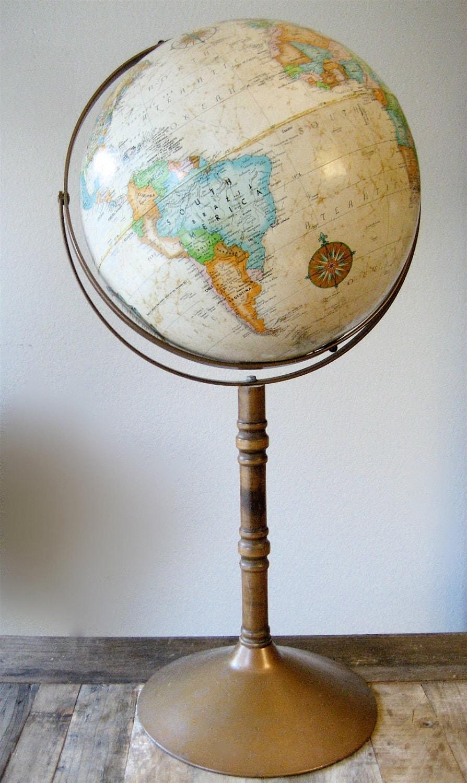 world Vintage globes replogle