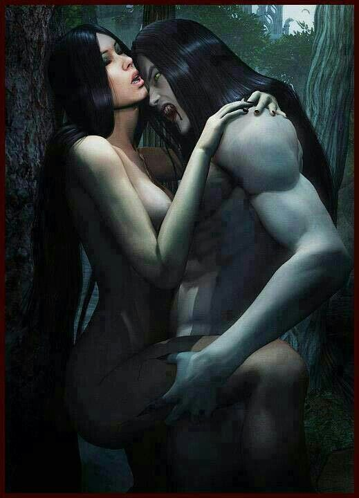 Sexy vampires having sex