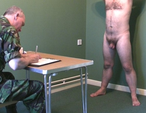 exam physical Gay military