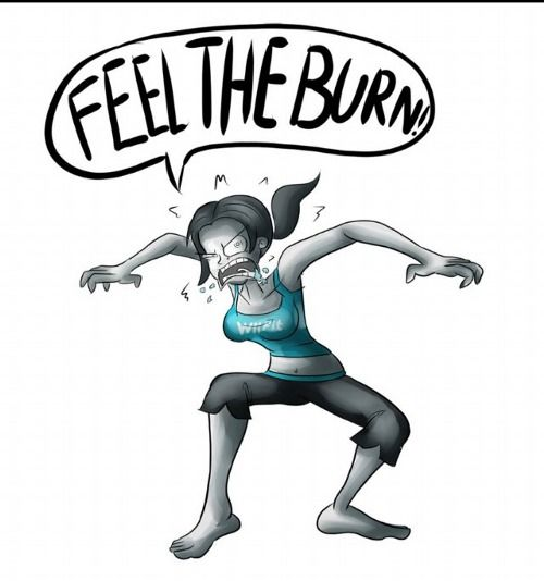 Seldom.. possible Wii fit trainer porn comic xxx