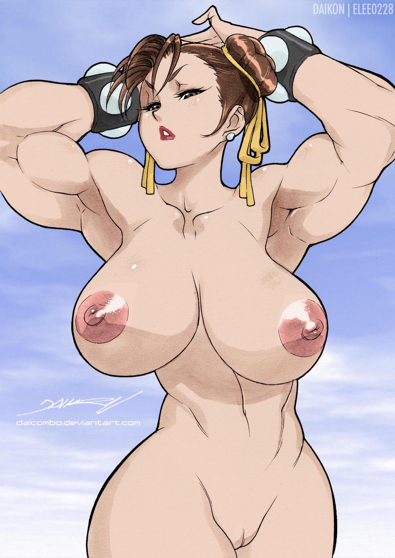 naked chun li