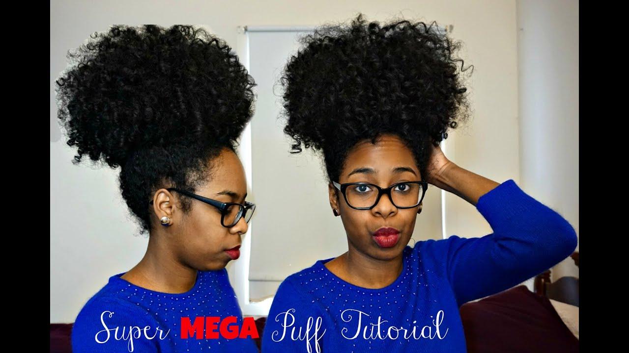 puff Natural hair