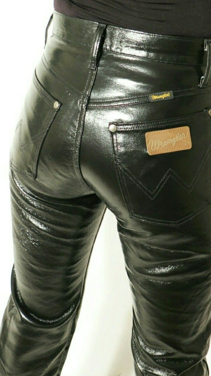 tight pants butt leather Skin