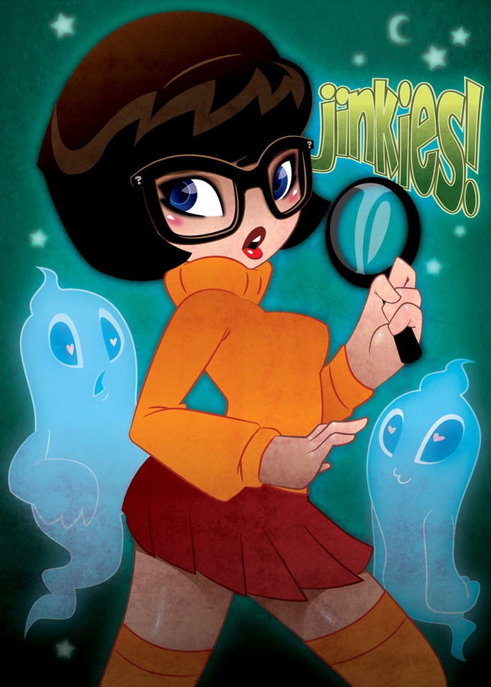 cartoon Scooby velma doo