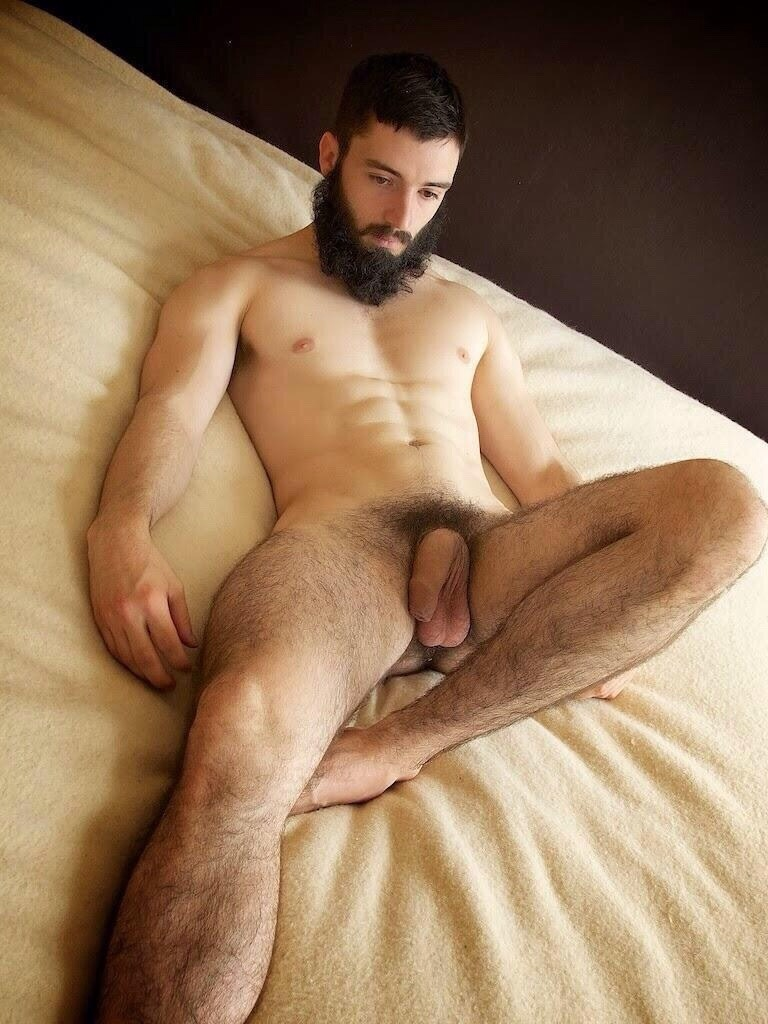 beards with Uncut men naked long
