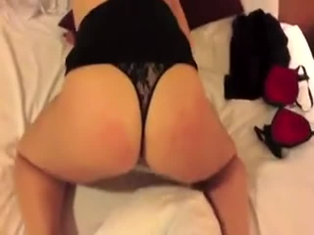 behind from Thong fuck